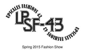 Upscale Fashions 43 logo